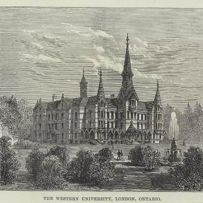 The Western University, London, Ontario--Giclee Print