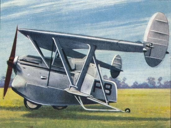 The Westland-Hill 'Pterodactyl', 1938-Unknown-Giclee Print