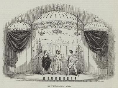 The Westminster Plays--Giclee Print