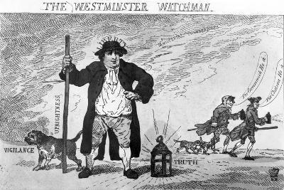 The Westminster Watchman--Giclee Print