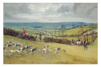 The Whaddon Chase-Lionel Edwards-Premium Giclee Print