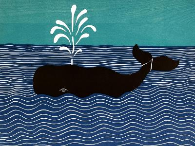 The Whale-Stephen Huneck-Giclee Print