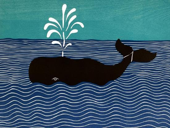The Whale-Stephen Huneck-Giclee Print
