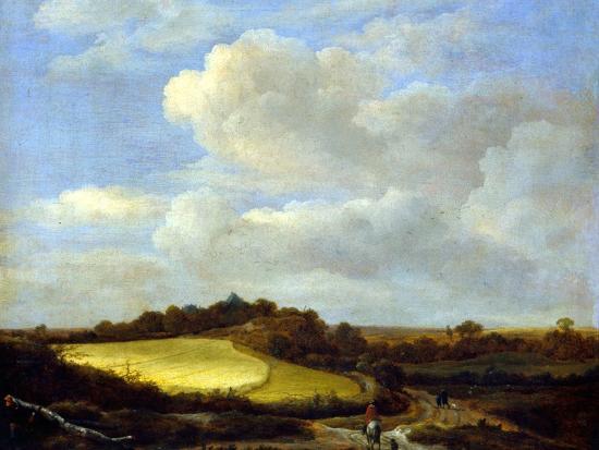 wheatfields jacob van ruisdael