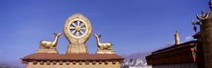 The Wheel of Law, Jokhang Temple, Lhasa, Tibet