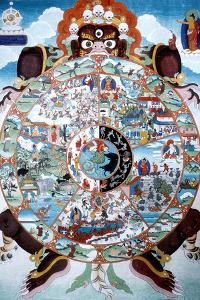 The Wheel of Life, Tibet, 19th-20th Century