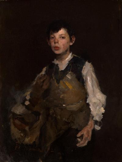 The Whistling Boy, 1902-Frank Duveneck-Giclee Print