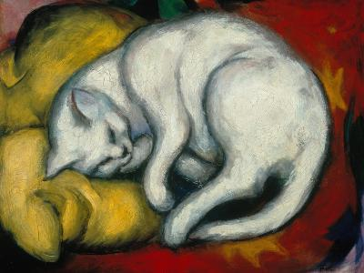 The White Cat, 1912-Franz Marc-Giclee Print