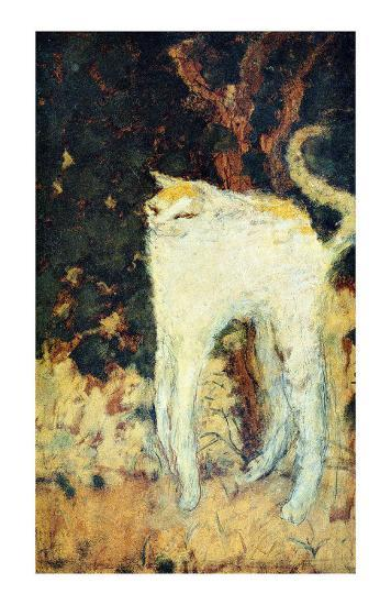 The White Cat-Pierre Bonnard-Giclee Print