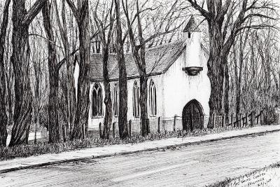 The White Chapel, Aviemore, 2007-Vincent Alexander Booth-Giclee Print