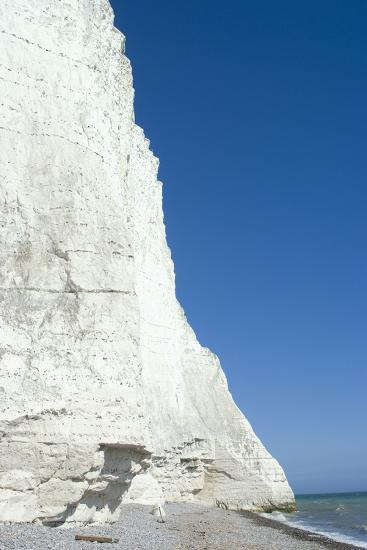 The White Cliffs at Seven Sisters Beach, East Sussex, England-Natalie Tepper-Photo