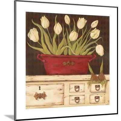 The White Cupboard-Jo Moulton-Mounted Print