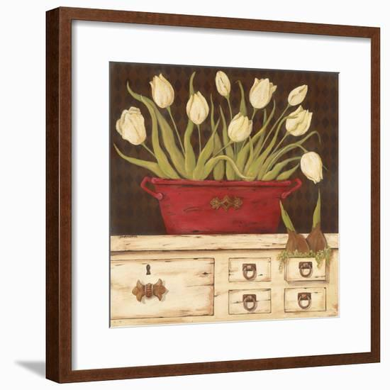 The White Cupboard-Jo Moulton-Framed Premium Giclee Print