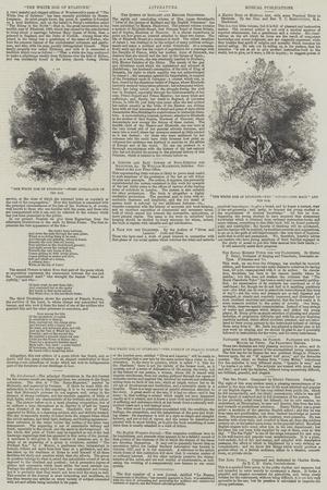 The White Doe of Rylstone-Myles Birket Foster-Giclee Print