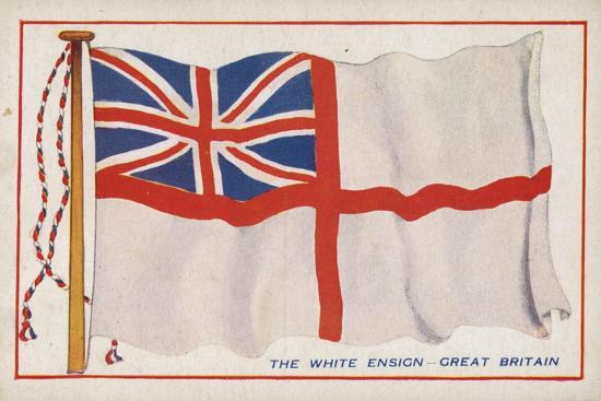 The White Ensign - Great Britain--Giclee Print