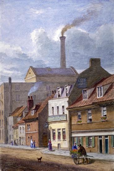 The White Hart Inn, High Street, Shadwell, London, C1865-JT Wilson-Giclee Print