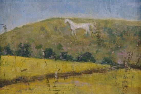 The White Horse-Ruth Addinall-Giclee Print