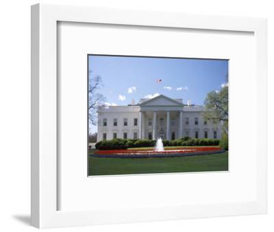 The White House in Washington, D.C.-Richard Nowitz-Framed Photographic Print