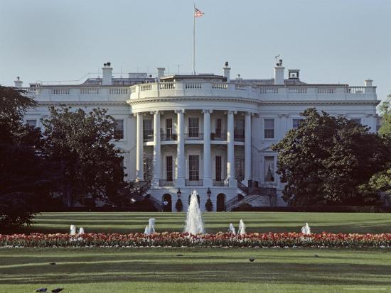 The White House, Washington, D.C.-Kenneth Garrett-Photographic Print