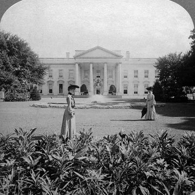 The White House, Washington Dc, USA, C Late 19th Century-Underwood & Underwood-Photographic Print
