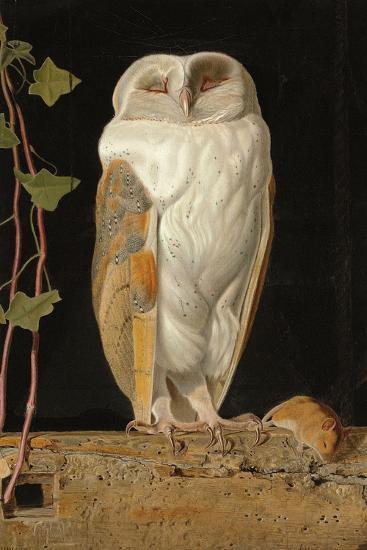 The White Owl, 1856-William J^ Webbe-Giclee Print