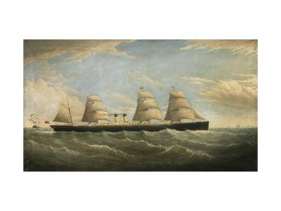 The White Star Steamship 'Germanic', 1876-Isaac Joseph Witham-Giclee Print