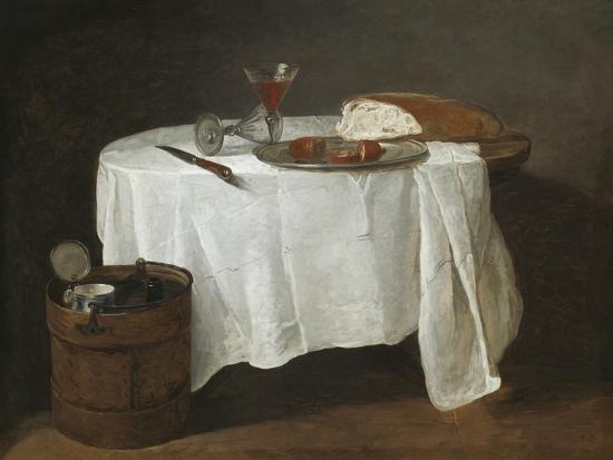 The White Tablecloth, 1731-32-Jean-Baptiste Simeon Chardin-Giclee Print