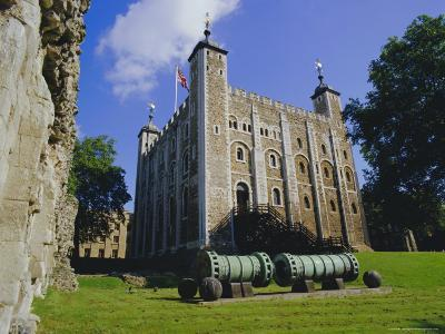 The White Tower, Tower of London, London, England, UK-Walter Rawlings-Photographic Print