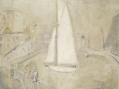The White Yacht in Monte Carlo-Christopher Wood-Giclee Print