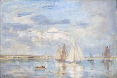 The White Yacht-Philip Wilson Steer-Giclee Print