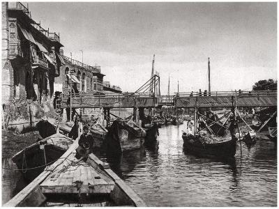The Whiteley Bridge, Ashar Creek, Basra, Iraq, 1925-A Kerim-Giclee Print