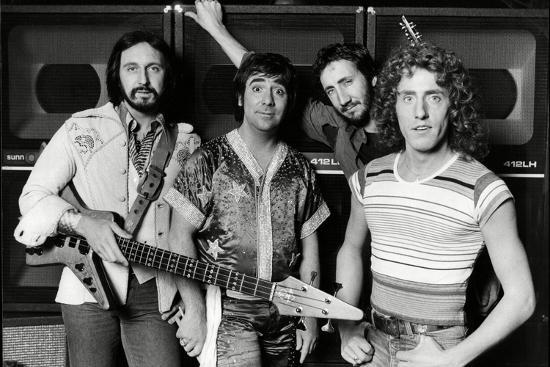 The Who, 1977-Associated Newspapers-Photo
