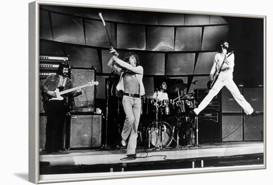 The Who on Stage in 1969--Framed Photographic Print