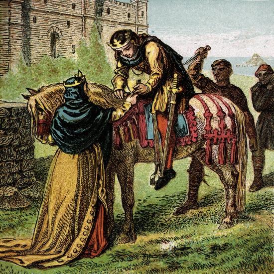 The Wicked Queen Elfrida--Giclee Print