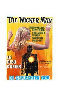 The Wicker Man, (aka Le Dieu D'osier), Belgian poster, 1973