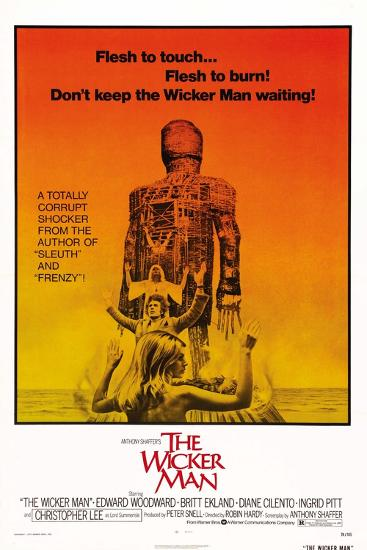 The Wicker Man, Diane Cilento, Christopher Lee, Britt Ekland, 1973--Art Print