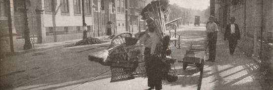 'The wicker-work vendor', 1914-Unknown-Photographic Print