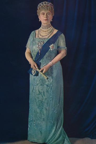 'The Widowed Queen: Her Majesty Queen Mary', 1936-Unknown-Giclee Print