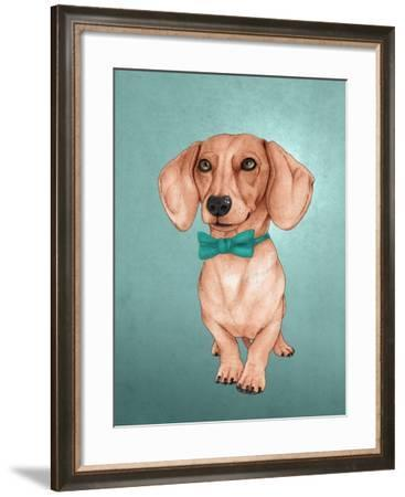 The Wiener Dog-Barruf-Framed Art Print
