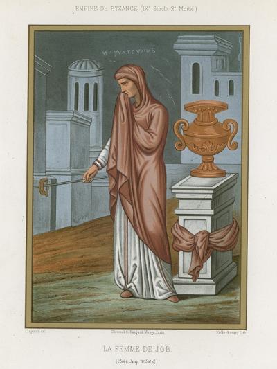 The Wife of Job--Giclee Print