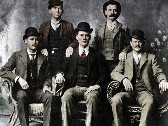 The Wild Bunch, American outlaw gang, 1901 (1954)-Unknown-Photographic Print