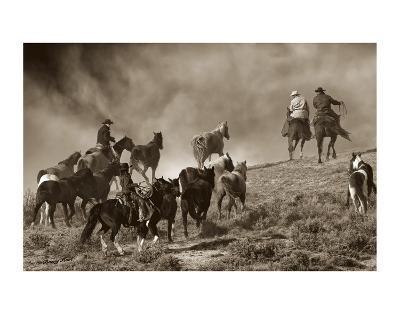 The Wild Bunch-Barry Hart-Art Print