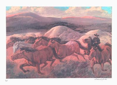 The Wild Horse Runners-Rockwell Smith-Collectable Print