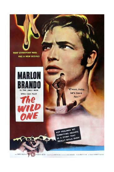 The Wild One, Marlon Brando, 1953--Art Print