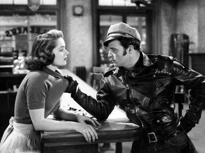 The Wild One, Mary Murphy, Marlon Brando, 1954--Photo