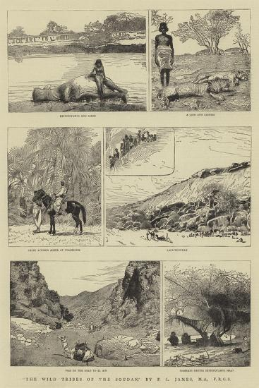 The Wild Tribes of the Soudan--Giclee Print
