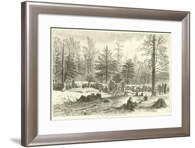 The Wilderness, Scene of Wadsworth's Death, May 1864--Framed Giclee Print
