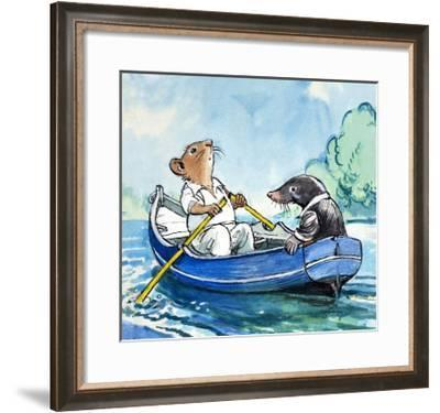 The Wind in the Willows-Philip Mendoza-Framed Giclee Print