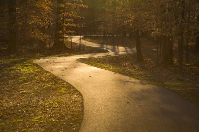 The Winding Matthew Henson Trail, a Greenway for Hikers and Cyclists-Stephen St^ John-Photographic Print