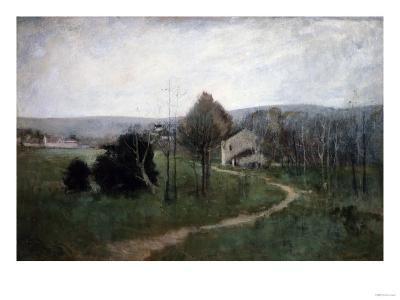 The Winding Path, 1885-George Wesley Bellows-Giclee Print